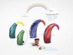Phonak Sky Q - Pediatric Hearing Aid. Kids will love these.