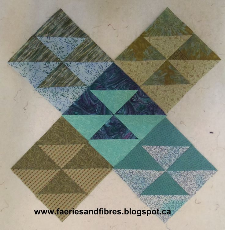 Faeries and Fibres: Block of the Month