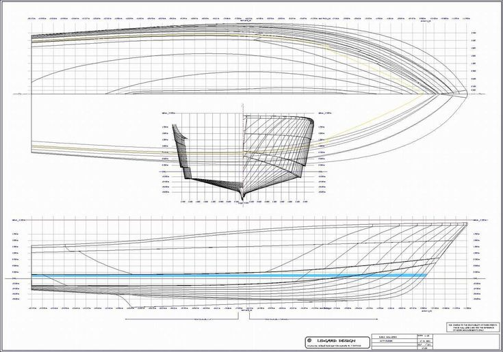 Free+Boat+Blueprints | Hull design for 60 ft production moulded powerboat, to view larger ...