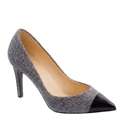 Everly cap toe wool pumps - shut up.Fashion, Wool Pump, Toes Wool, Crew Shoes, J Crew, Cap Toes, Fall Work Outfits, Woman Shoes, Jcrew