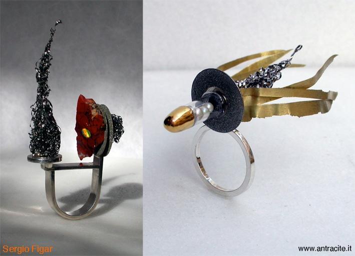 Rings of Atraenti Collection 2011  Sergio Figar