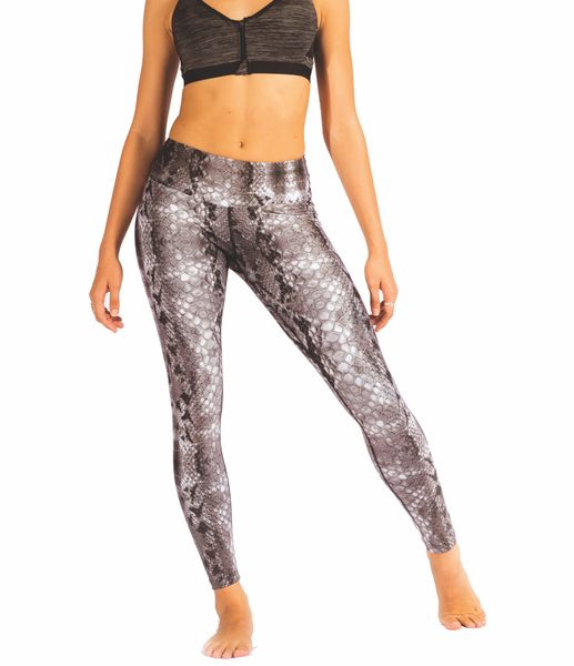 Sultry Snake print for the woman looking to take her leggings from a workout, yoga or pilates to coffee catch ups!