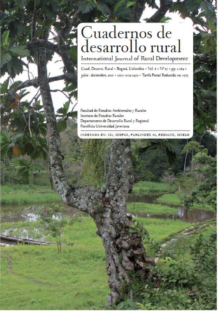 Vol 8, No 67 (2011): Cuadernos de Desarrollo Rural