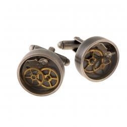 Cufflinks with clock parts from VINTAGE collection by Anna Orska.
