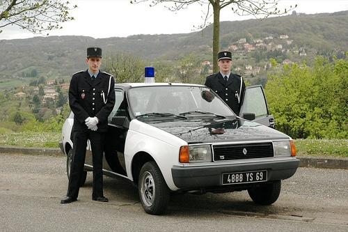 Renault 14 TS Police