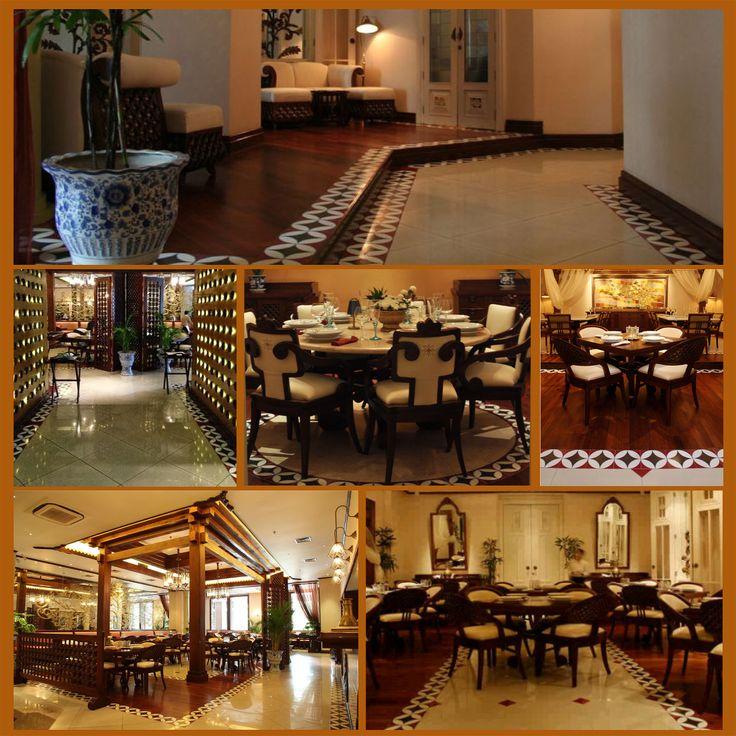 Custom Floor Tile (Kiln-Fired Process) at Harum Manis - Authentic Indonesian Restaurant Pavilion Apartment, Retail Arcade (Jakarta)