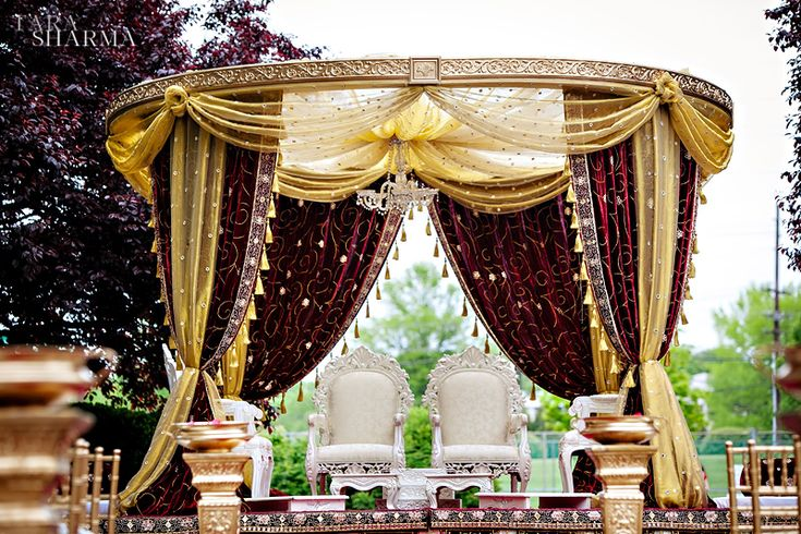 Beautiful Ceremony Decor By Elegant Affairs