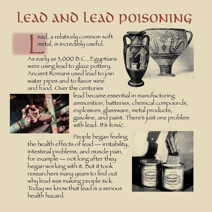 Lead and lead poisoning, by the Oregon Occupational Safety and Health Division