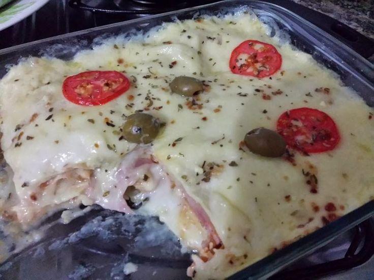 Blog da Mi ♥ Minha Dieta Dukan: Lasanha feita com massa de panqueca Dukan - Fase…
