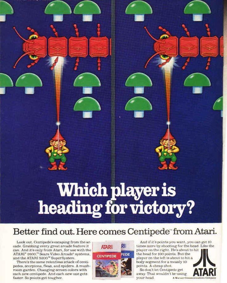 On instagram by heythisispop #atari2600 #microhobbit (o) http://ift.tt/2po5z0I  #atari  #centipede #arcade #coinop #arcadegame #arcadegamer #geeklife #trackball #videogames #videogamer #instagamer #instagamers #instagaming #1up #videojuegos #videojuegosretro #vintagegames #thisispop #retroads #80s #80stothemax #atarisoft
