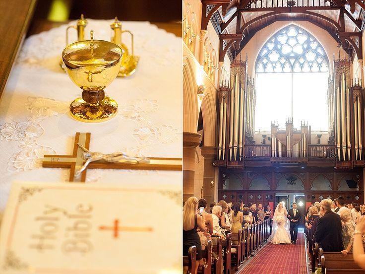 St Patrick's Basilica wedding Fremantle. Photography by DeRay & Simcoe.