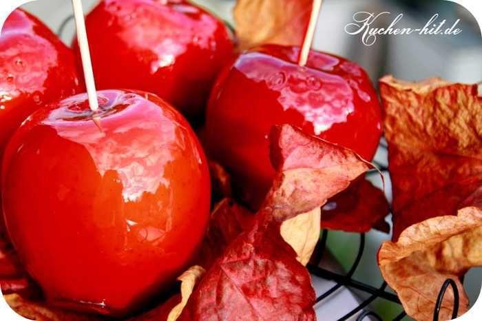 Rezept für kandierte Äpfel. Einen kandierten Apfel kann man einfach selber machen – dieser Zuckerapfel eignet sich perfekt für einen Kindergeburtstag party.