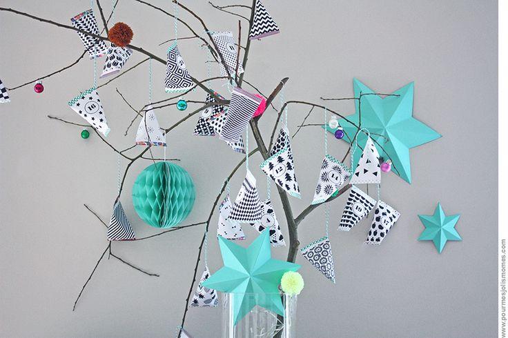 L'arbre à berlingots (calendrier de l'avent // DIY) | pour mes jolis mômes, mais pas que...