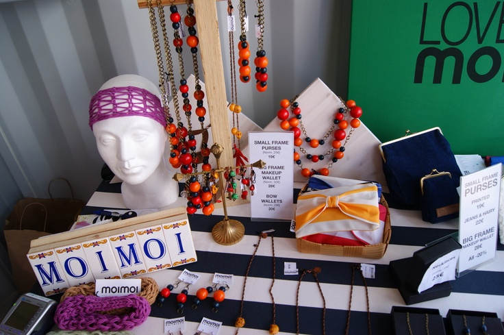MoiMoi Store in Helsinki Fashion Village on Senate Square of Helsinki. Photo by myPose! ltd.