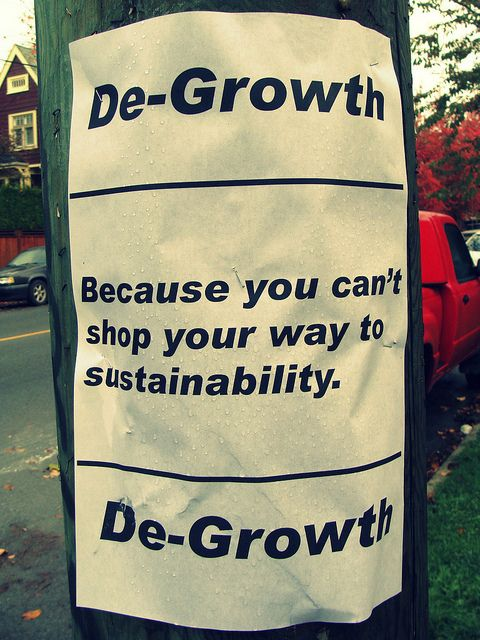 degrowth theory d. Alternative economic model / experts view