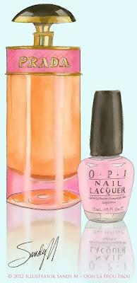 Illustrator Sandy M for Ooh La Frou Frou