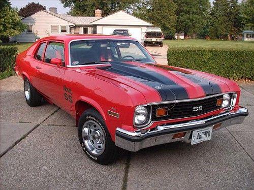 1974 Chevy Nova Ss Gas Money Muscle Cars Pinterest