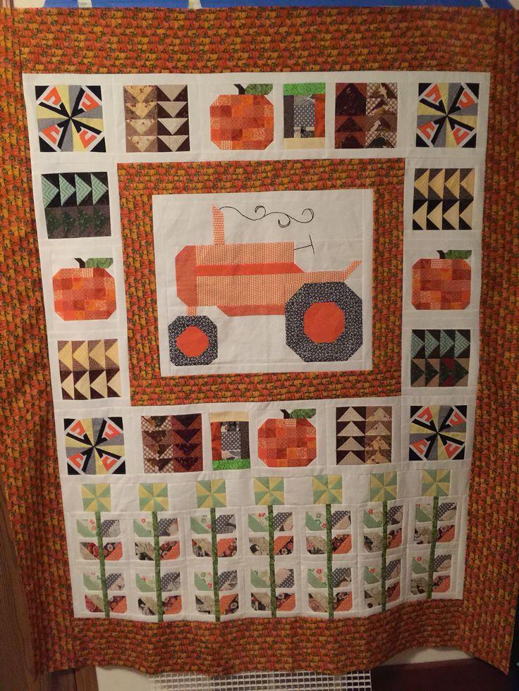 Allis Chalmers tractor quilt