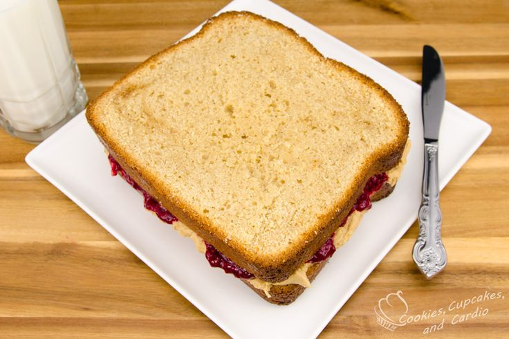 Peanut Butter and Jelly Sandwich Cake | Cakes from Cookies ...