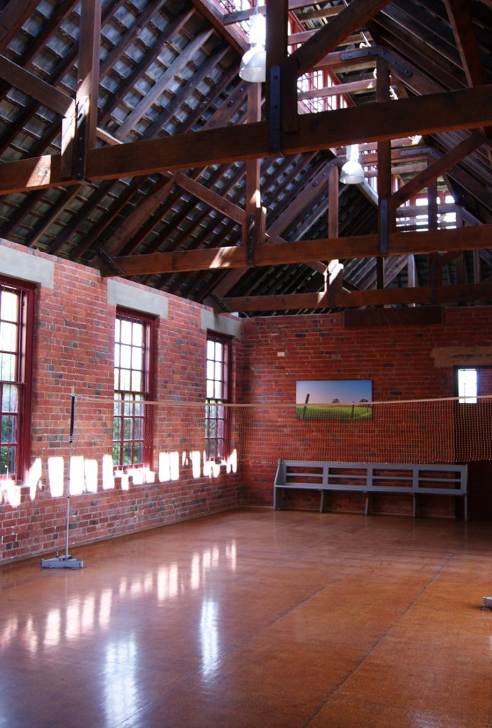 Amazing vaulted ceilings of the former wheel house of the historic Blythwood Grange, now indoor gym and rec room of WorldMark Resort Ballarat!  you're missing out (and you might not even know) | MyClub