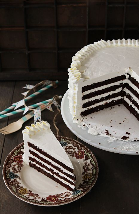 Best chocolate cake recipe - must add this to my repertoire! Love the addition of cassis...
