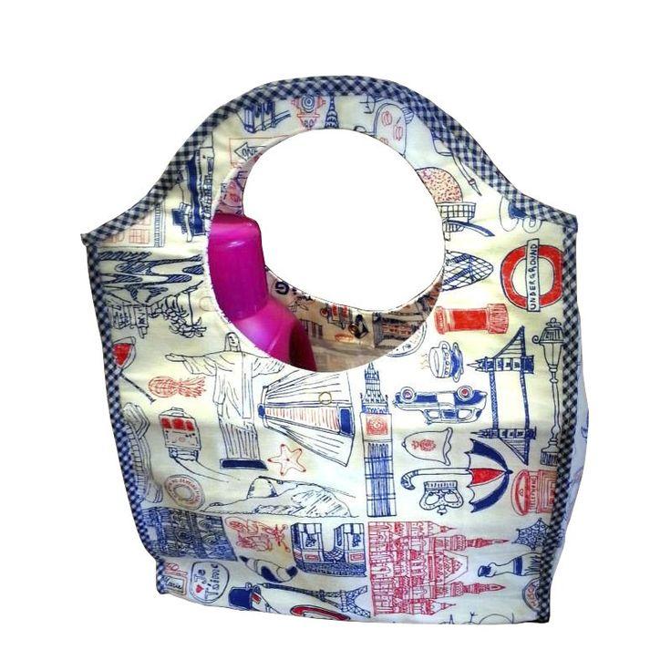 #Bolso matero, hecho a mano en diferentes telas impermeables. #Emprendimiento…