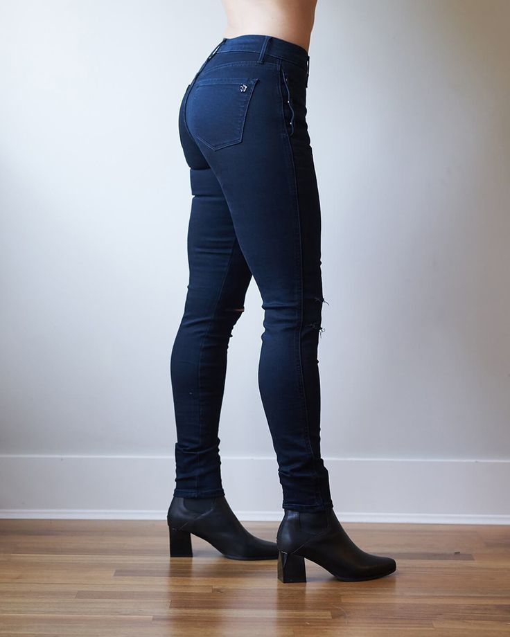 Black Orchid Denim | Adrianna Military Skinny, on sale now for $168.00