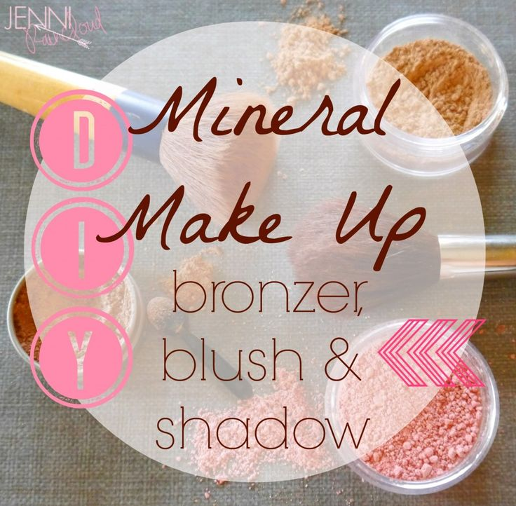 Blush, Bronzer & Shadow, Oh My! Click on link for all tutorials and recipes. http://jenniraincloud.com/category/make-up/