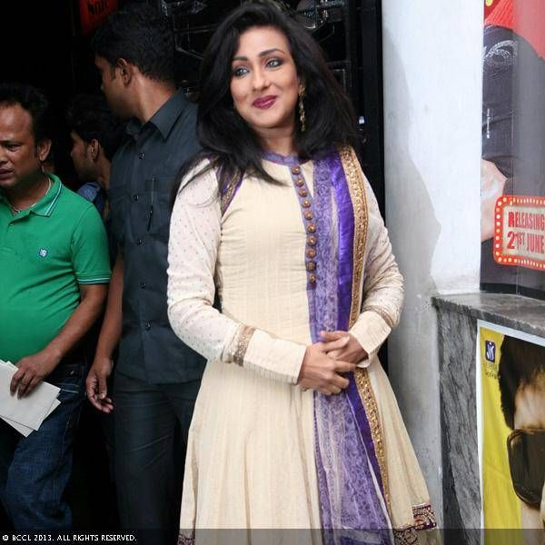 Rituparna during the premiere of the movie A Political Murder. Rituparna during the premiere of the movie A Political Murder.