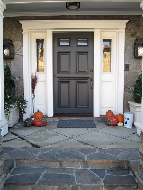 sherwin williams iron ore/front door color