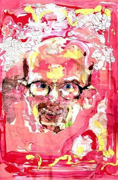 The artist under crystal meth