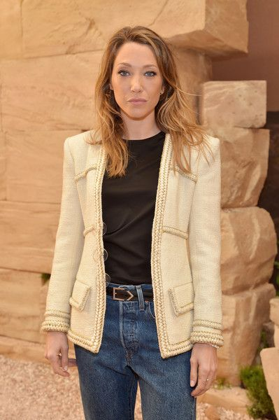 Laura Smet attends the 'Chanel Cruise 2017/2018 Collection' at Grand Palais on May 3, 2017 in Paris, France.