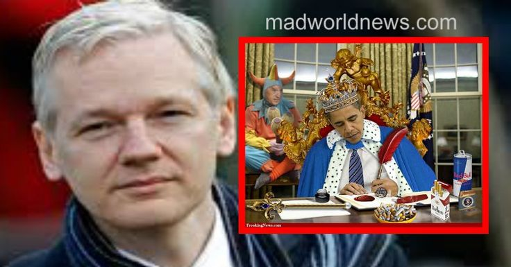 Not only did WikiLeaks validate what we all know, that Russia did not hack our election as Barack Obama and whiny Democrats claim, but it also released devastating emails, exposing Hillary Clinton and her campaign staff as criminals and vile election riggers. Now, Julian Assange, the founder of the whistle-blowing website, has decided to expose Obama's sinister plans before he leaves the White House.