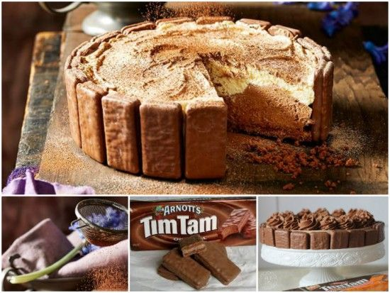 No Bake Tim Tam Cheesecake Recipe