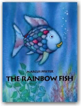 Rainbow Fish would be a great book to read to students when your students are having trouble sharing their things. Rainbow fish is reluctant to share, but learns he makes a lot of friends and is happier when he shares.