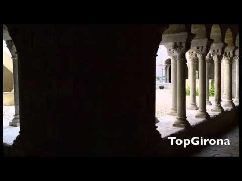 ▶ Claustre romànic de S Daniel - YouTube