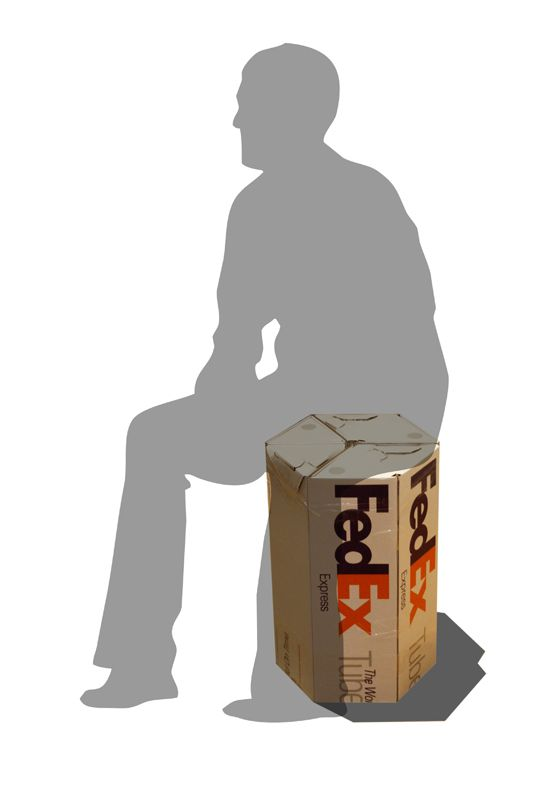 Tag 213: Gastbeitrag – FedEx Hocker