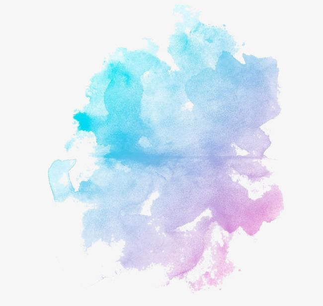 Blue Watercolor Picture Material Watercolor Clipart Watercolor