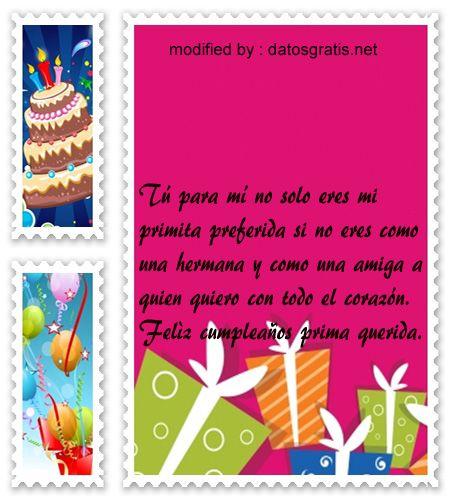 bellos mensajes con imàgenes de cumpleaños para una prima, saludos de cumpleaños con imàgenes para enviar a mi prima : http://www.datosgratis.net/las-mejores-frases-para-mi-prima-por-su-cumpleanos/