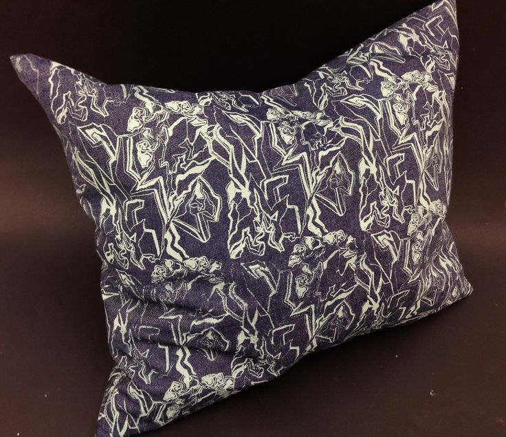 Handmade Pillow with my pattern