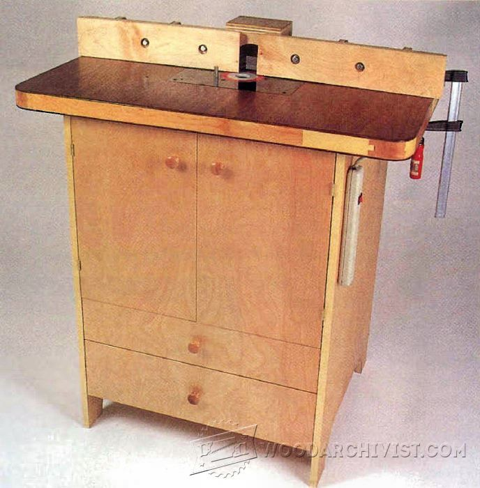 Woodworking tips router table and router table plans on for Wood router ideas