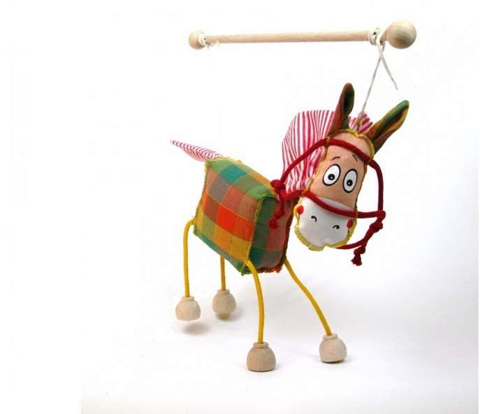 Horse ,  puppet marionette