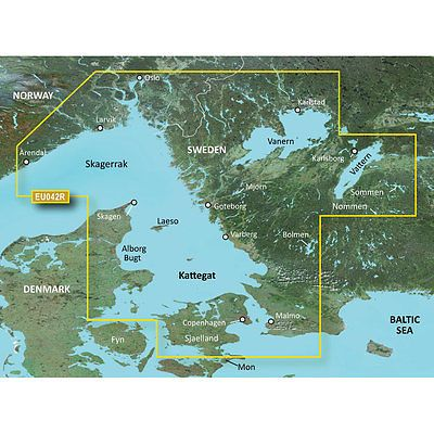 GPS Software and Maps: Garmin Bluechart G2 Hxeu042r - Oslo To Trelleborg - Microsd And Sd -> BUY IT NOW ONLY: $237.32 on eBay!