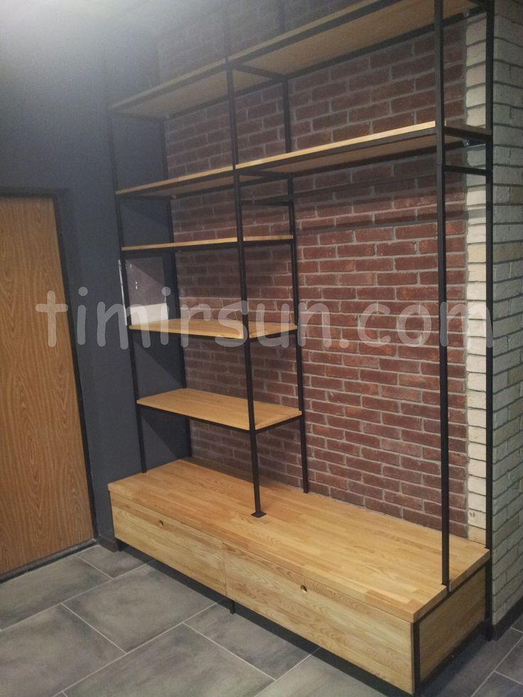 Стенка-стеллаж для прихожей Stillage loft