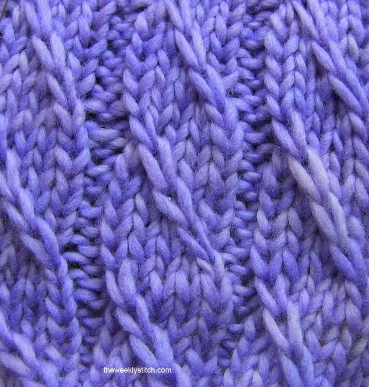 Twilled Stripe Stitch | The Weekly Stitch