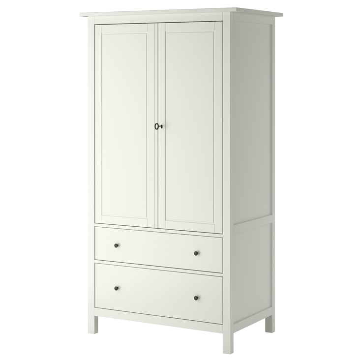 Hemnes Wardrobe With 2 Sliding Doors White Stain Best 25+ Hemnes Wardrobe Ideas On Pinterest | Ikea Built