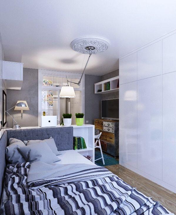 שיעור בעיצוב דירה קטנה: 25 מ''ר עם כיוון אוויר אחד בלבד, ולא חסר בה דבר | Xnet