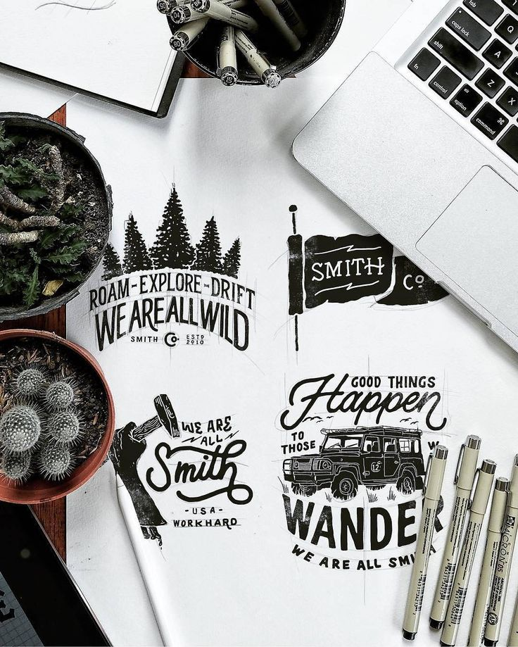 Great rustic feel in all these works by @khairulitie - #typegang - typegang.com | typegang.com #typegang #typography