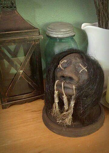 how to make realistic shrunken heads