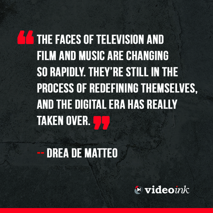 With the rise of the digital era, there are many new faces each day. Each person enters the digital era for a reason, and in the process they try to figure exactly where they belong. Read the full interview that Drea de Matteo gave VideoInk http://www.thevideoink.com/features/5qs-with/drea-de-matteo-embracing-digital/#.VIClMIe0rSE #quotes #digital #video #creators